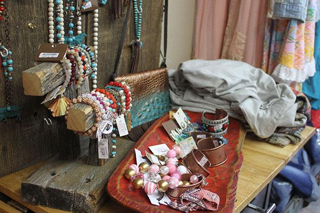 Vendor Jewelry display at the Vinita Route 66 Festival