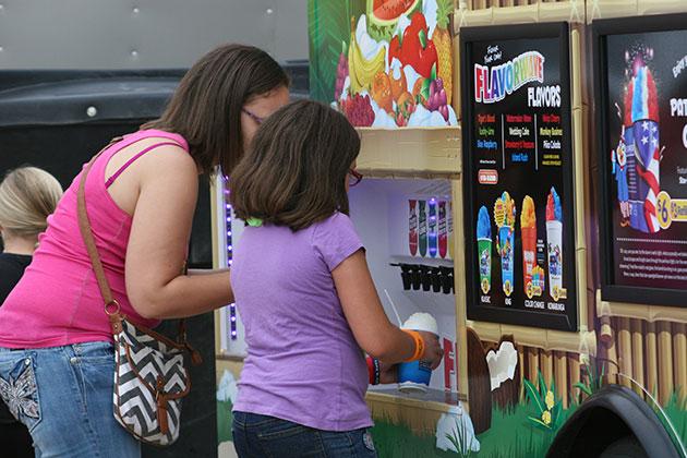 Vendor truck at the Route 66 Festival