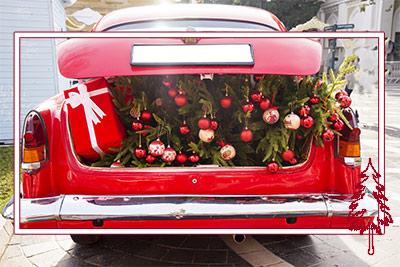 Christmas Cruisin' Car